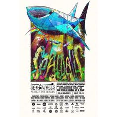 Honored to take part in @pangeaseeds #seawalls with some great artist! Thank you🐋