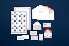 Provisions Branding on Branding Served #stationery #print #envelope #business card