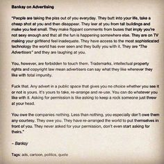 FFFFOUND! #on #banksy #advertising