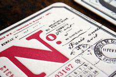 Letterpress coasters #beer #letterpress #matt