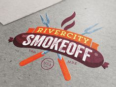 Let's Battle! #logo #battle #design #bbq