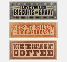 FFFFOUND! #biscuits #signs