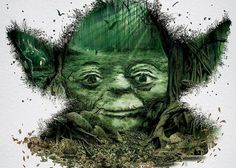 Star Wars Identities Mosaics #mosaic #yoda #wars #star