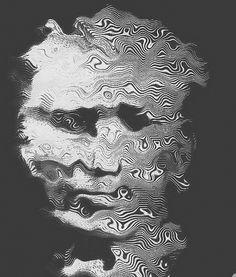 Delicious Dimension #illustration #portrait #distortion
