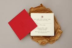 Ben and Amelia - Letterpress Wedding Invites #invite #ink #white #red #handdrawn #clear #letterpress #royal #handwritten #invites #crowns #wedding #love #duplex