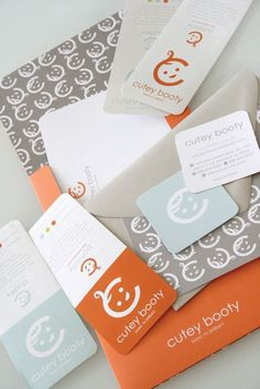 Logo and Identity for the Cutey Booty #inspiration #print #brand #identity #logo