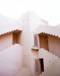 pink architecture