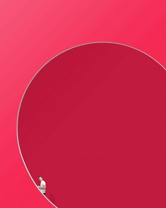 Creative Minimalist and Colorful Photography by Jan Baumgartner