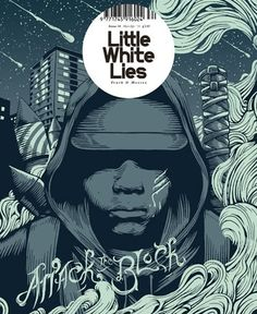 Little White Lies Magazine Cover Attack The Block Glow in The Dark