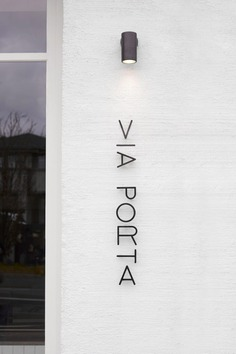 Studio Esteta designs Via Porta cafe to look like an Italian street