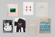 Gagosian Gallery – Catalogues 2012 | Publication | Graphic Thought Facility #layout #design #typography