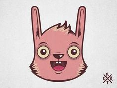 Dribbble - Happy Bunny! by Artcore Illustrations #artcore #illustration #bunny