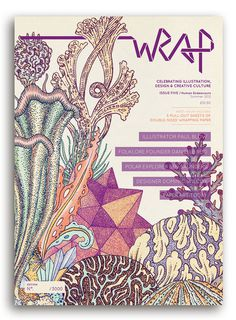 Image of WRAP ISSUE 5 – 'HUMAN ENDEAVOURS' #print #magazine #wrapping paper