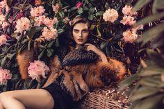 Saga Furs | Photographer Signe Vilstrup #model #photography #design #flowers