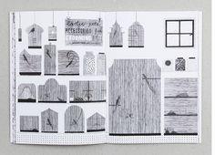 Hannah Waldron - Freelance illustrator and Print Designer #drawings #line #zine #hannah #shop #cages #waldron #birds