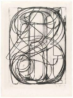 Typeverything.com 0 through 9 by Jasper Johns.