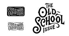 OldSchool_logos.jpg #logo #type #hand #typography