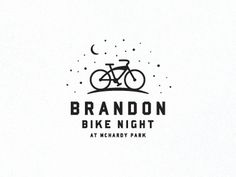 Dribbble - Bike Night by Chad Riedel #logo