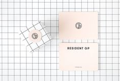 Resident GP by A Friend of Mine #grid #packaging #box #graphic #design