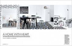 Graphic-ExchanGE - a selection of graphic projects #home #layout #white #black
