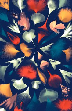 Santtu Mustonen | FormFiftyFive – Design inspiration from around the world #abstract #paint #3d