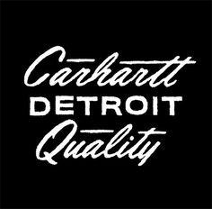 Carhartt DAN CASSARO YOUNG JERKS Design/Animation/Illustration #mark #type #logo