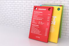 Little Chef, logotype, typography, menu