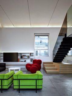 Loft PAR by Buratti Architetti #ideas #design #interiors