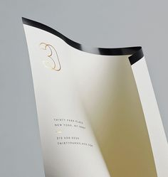 30 Park Place by Mother #brand design #stationary #letterhead