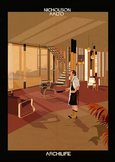 federico babina adds cinematic stars to architect-designed interiors #archlife