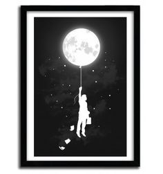 MIDNIGHT TRAVELER by Budi Satria Kwan #print #art