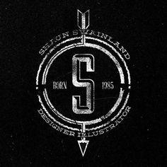 SELF-PROMOTION / BRANDING on the Behance Network #shaun #branding #designer #self #illustrator #swainland #logo #promotion