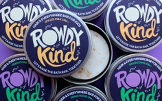Taller Design Agency Rowdy Kind packaging group tin soap bar