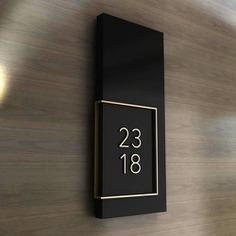 hotel Wayfinding | Signage | Sign | Design | 酒店房号导视