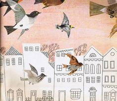 Husband and Wife Team: Alice and Martin Provensen | Weddingbee PRO #illustration #bird