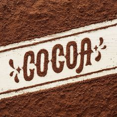 General Mills Cereals, cocoa, food, lettering, chocolate