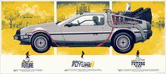Mondo: The Archive | Phantom City Creative Back to the Future Variant, 2012 #movie #poster