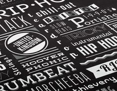 Trip-Hop Tribute #text #white #black #wall #attack #massive #and #type #typography