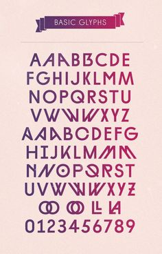 Diamonds ► Type Family #typography