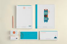 Merchandwise on Behance #stationery