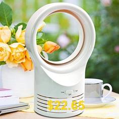 Electric #Small #Silent #Bladeless #Mini #Fan #- #WHITE