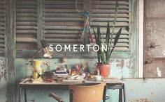 SOMERTON CO on Behance #branding #office #space #identity #workspace #logo