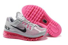 Air Max+ 2013 Grey Pink Nike Womens Size Shoes #shoes