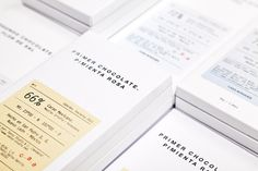 SAVVY STUDIO | Casa Bosques Chocolates #type #label