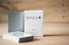 Republic 2 Playing Cards #republic #packaging #deck #design #playing #ellusionist #cards
