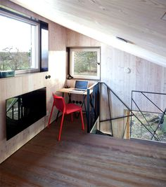 Modernistic Wooden House Zilvar -#decor, #interior, #homedecor, home decor, interior design, work space