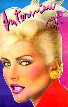 John the meow guy — Some iconic divas by Andy Warhol for Interview...