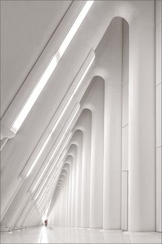 World Trade Center (PATH Station)_1 by Herbert A. Franke on 500px