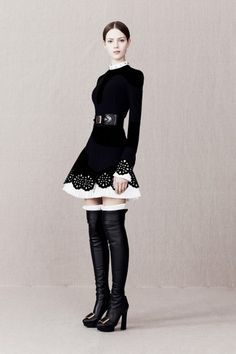alexander mcqueen pre fall 2013 04_110138277540 #fashion