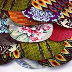 bespoke cut and sew main #hat #pattern